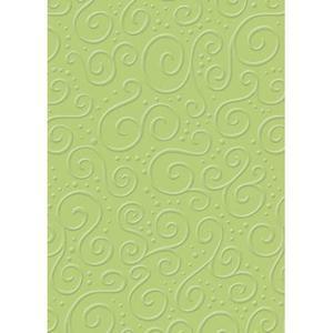 Karton B2 220g Heyda tłoczony Milano zielony x1 - 2882916245