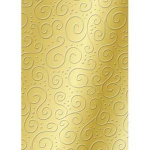 Karton B2 220g Heyda tłoczony Milano złoty x1 - 2882916250