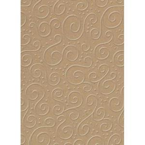 Karton B2 220g Heyda tłoczony Milano brązowy x1 - 2882916252