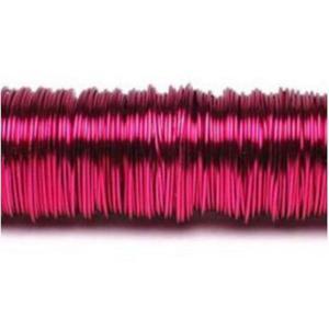 Drucik metalowy 160m (0,3mm) różowy ciemny x1 - 2883162738
