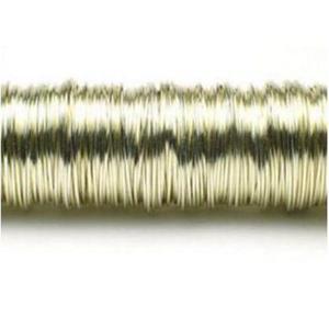 Drucik metalowy 160m (0,3mm) szampański x1 - 2883162744