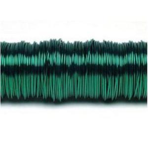 Drucik metalowy 160m (0,3mm) zielony ciemny x1 - 2883162745