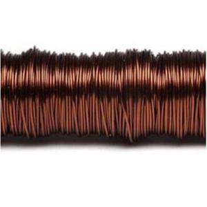 Drucik metalowy 38m (0,65mm) brązowy x1 - 2883162747