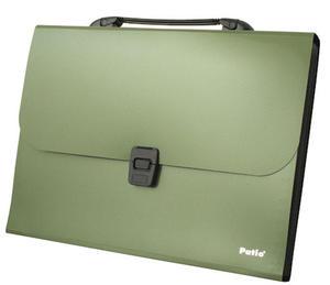 Teczka Patio 8505 z rączką zielona x1 - 2824960139