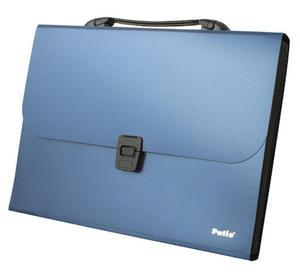 Teczka Patio 8508 z rączką niebieska x1