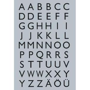 Naklejki HERMA Decor 4133 alfabet folia srebrna x1 - 2860492073