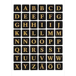 Naklejki HERMA Decor 4130 alfabet folia czarna x1 - 2860492074