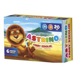 Farby plakatowe Astrino 20ml 6kol. x1 - 2860492513