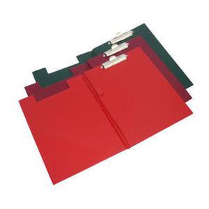 Clipboard A4 Biurfol z okładką czerwony x1