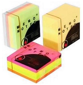 Notes samoprzylepny 75x75 żółty 400k x1