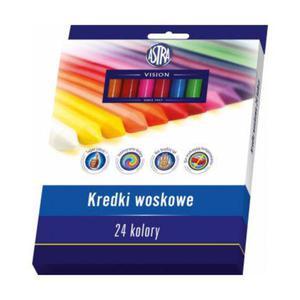 Kredki woskowe Astra Vision 24kol x1