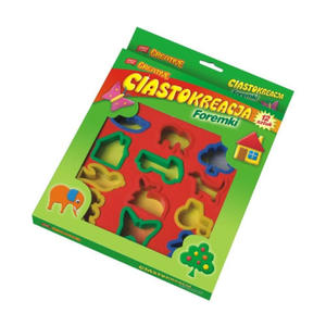Masa plastyczna Easy - Foremki x1