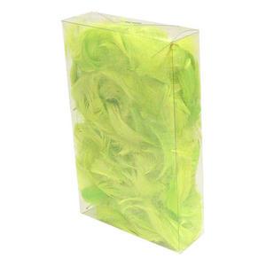 Piórka kolorowe - zielone jasne x1