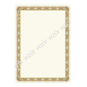 Dyplom A4 250g Złoto x20