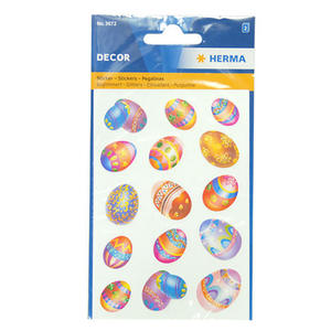 Naklejki HERMA Decor 3672 pisanki x1 - 2846498255