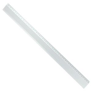 Linijka aluminiowa 50cm jednostronna x1 - 2863187102