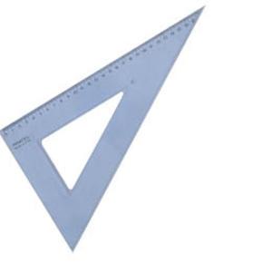 Ekierka Pratel 25cm 45 stopni x1