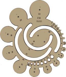 Szablon kołowy Koh-I-Noor Z-32 x1 - 2824960712