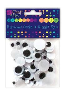 Oczka ruchome okrągłe 8,10,15,20mm 75e x1 - 2866099234