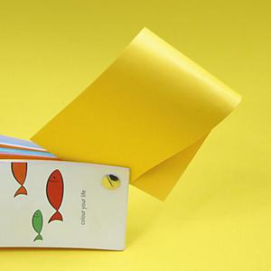 Rainbow A4 160g 18 żółty x250 - 2824960768