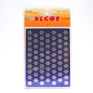Naklejki HERMA Decor 4058 gwiazdki srebrne 8 mm x1