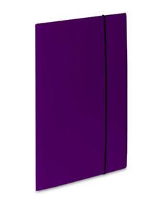 Teczka A4 z gumką VauPe Soft (1) fioletowa x1