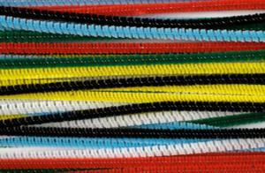 Druciki kreatywne chenille 30cm kolorowe x40