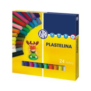 Plastelina Astra - 24 kol. x1 - 2824960926