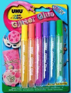 Klej UHU Creative Glitter Glue Shiny 6e x1 - 2824960958