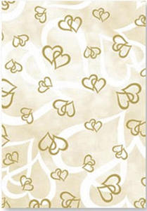Kalka A4 115g Heyda serca złote x1 - 2824960972