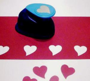 Dziurkacz ozdobny Heyda 2,5cm -31 serce x1 - 2824960978