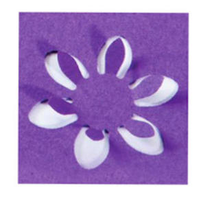 Dziurkacz ozdobny Heyda 3D 2,5cm - 26 kwiatek x1