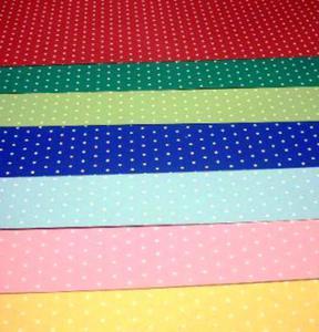 Karton A4 200g Heyda w kropki 03 czerwony x1 - 2824960999