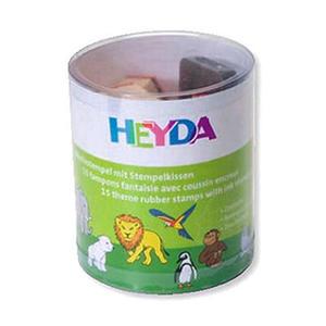 Stemple Heyda - zestaw ZOO 15e x1