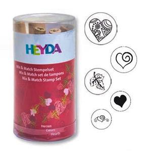 Stemple Heyda - zestaw Serca 5e x1