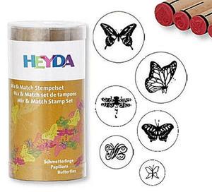 Stemple Heyda - zestaw Motyle 6e x1