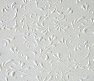 Karton B2 220g Heyda tłoczony Roma biały x1 - 2881997792