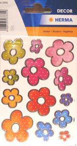 Naklejki HERMA Decor 3332 kwiatki x1