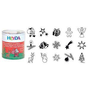 Stemple Heyda - zestaw Boże Narodzenie 15e x1