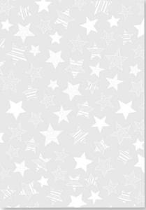 Kalka A4 115g Heyda gwiazdy białe x1 - 2824961091