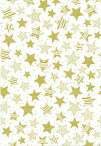 Kalka A4 115g Heyda gwiazdy złote x1 - 2824961109