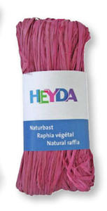 Rafia Heyda 50g - 87 różowa x1