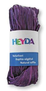 Rafia Heyda 50g - 85 fioletowa x1
