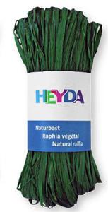Rafia Heyda 50g - 97 zielona ciemna x1