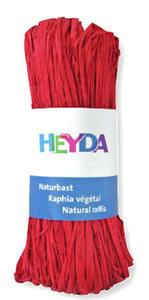 Rafia Heyda 50g - 91 czerwona x1