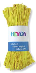 Rafia Heyda 50g - 88 cytrynowa x1