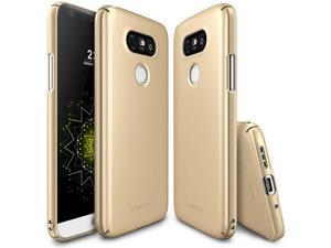 ETUI FUETAŁ RINGKE SLIM LG G5 - Złoty - 2825181449