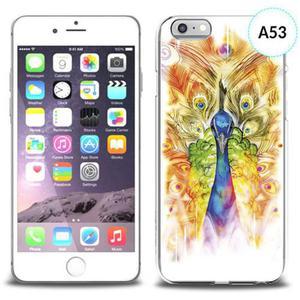 Etui silikonowe z nadrukiem iPhone 6 - paw malowany