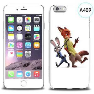 Etui silikonowe z nadrukiem iPhone 6 - zwierzogród - 2834655746