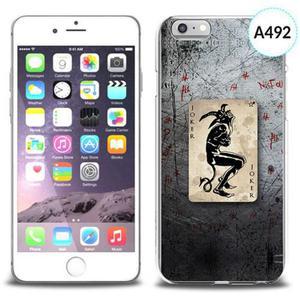 Etui silikonowe z nadrukiem iPhone 6 - joker - 2834655780